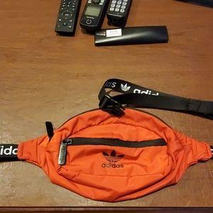 Brand New W/o Tags Red Addidas Waist Bag